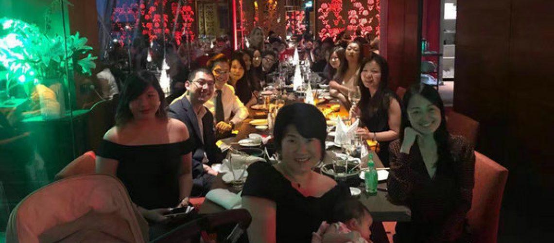 Chen Shan Lawyers 2017 Christmas Party at Kobe Jones