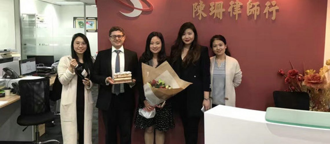 Congratulations to one of our colleagues Meredith Peng for getting admitted as a Lawyer